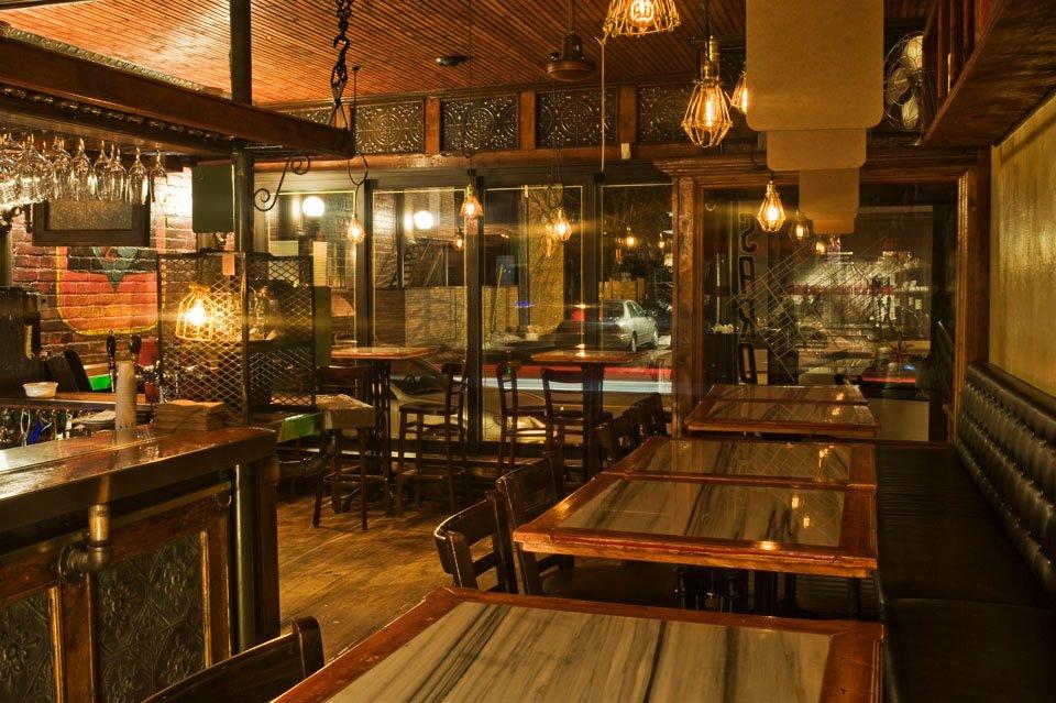 Cafe sardine salle a manger la bouche pleine for Salle a manger montreal restaurant