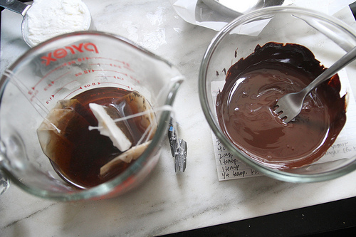 cake chocolate earl grey