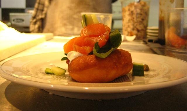 chez boris beignewich saumon montreal