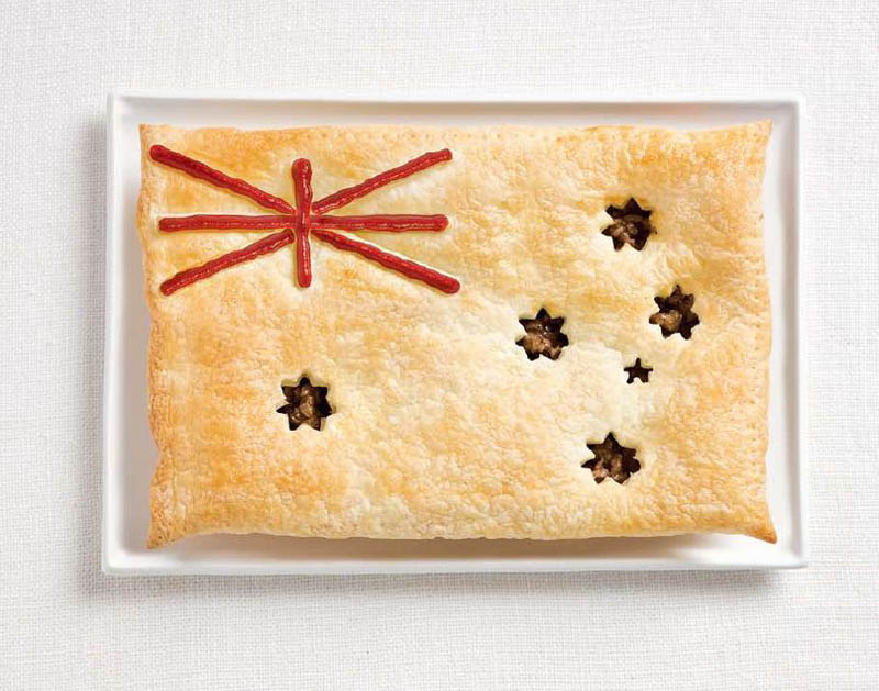 australia-flag-made-from-food