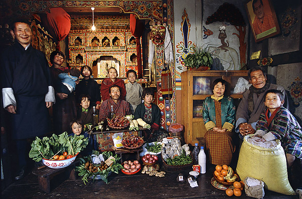 bhoutan alimentation