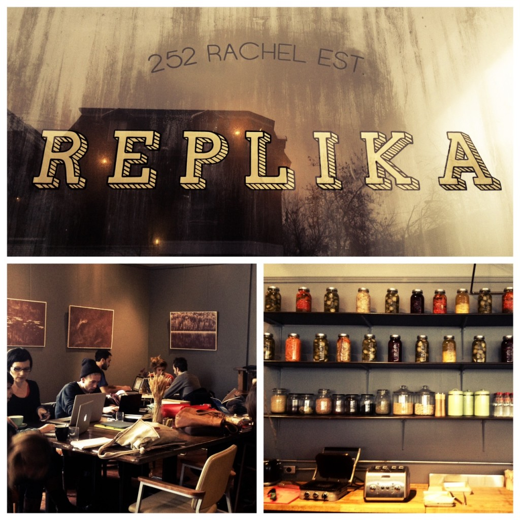 cafe replika montreal
