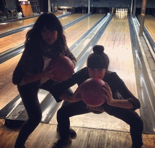 La bouche pleine au bowling