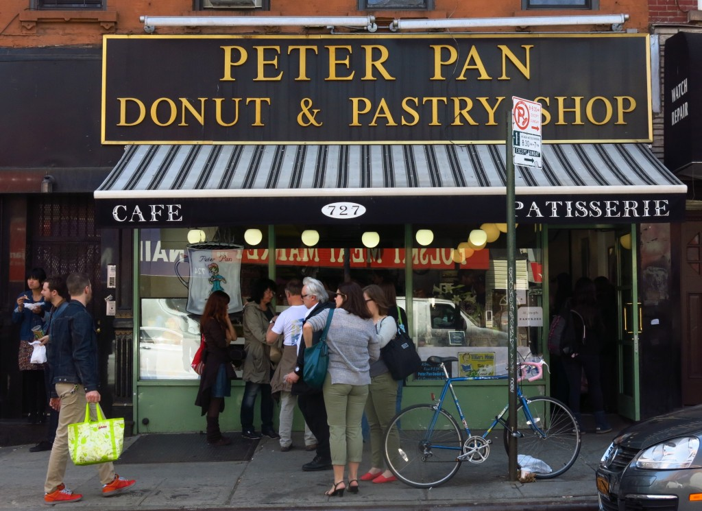 Peter Pan Donut shop nyc
