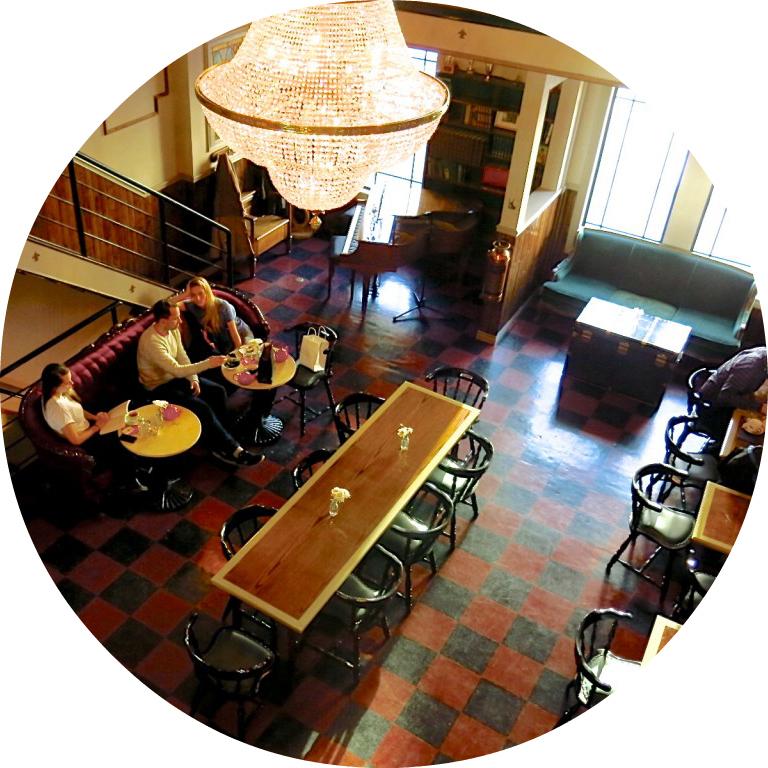 cardinal salon de thé